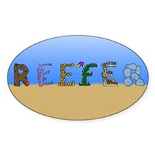Reefer Oval Decal