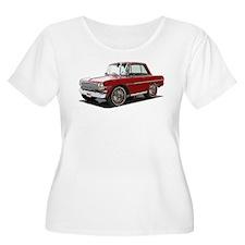 BabyAmericanMuscleCar_63NovA_Red Plus Size T-Shirt