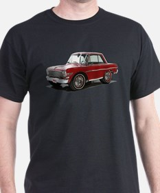 BabyAmericanMuscleCar_63NovA_Red T-Shirt