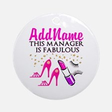 PERSONALIZE MANAGER Ornament (Round)