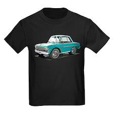 BabyAmericanMuscleCar_63NovA_Green T-Shirt
