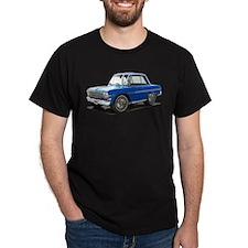 BabyAmericanMuscleCar_63NovA_Blue T-Shirt