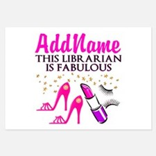 CUSTOMIZE LIBRARIAN Invitations