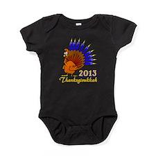 Thanksgivukkah 2013 Menurkey Baby Bodysuit