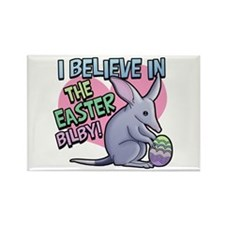 Believe Easter Bilby Rectangle Magnet