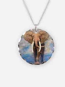 Bull Elephant Necklace