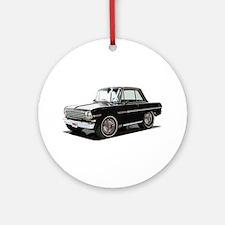 BabyMaricanMuscleCar_63NovA_Black Ornament (Round)