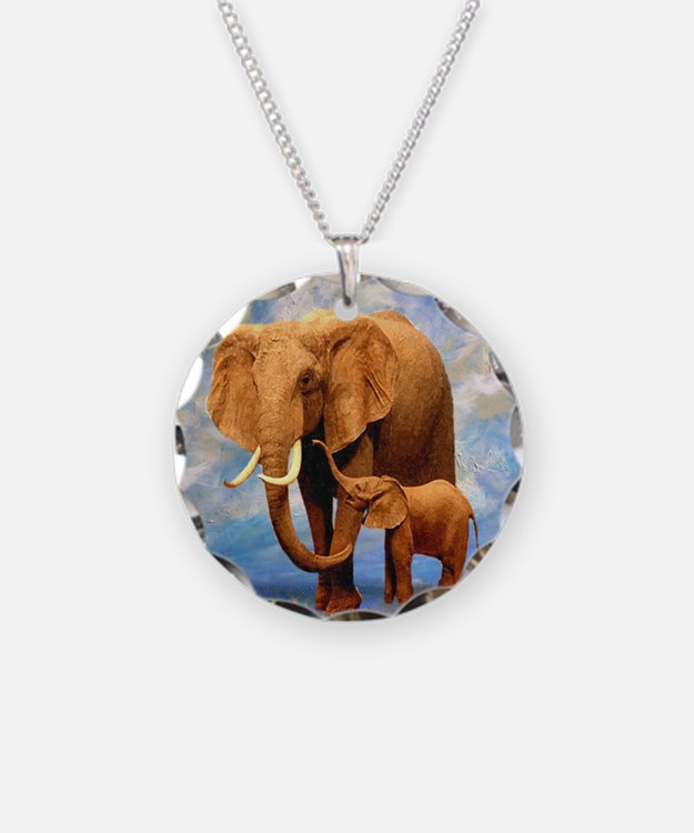 Elephant Mother Necklace
