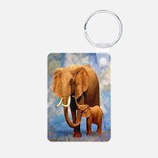 Elephant Mother Keychains