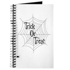 Trick Or Treat Spider Journal