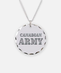 Canadian Army Necklace