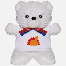 Cute Turkey simple Teddy Bear