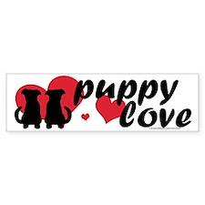 Puppy Love Bumper Bumper Sticker