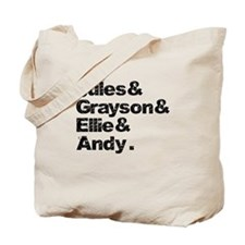 Cougar Town Couples Tote Bag