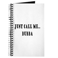 Call Me Bubba Journal