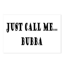 Call Me Bubba Postcards (Package of 8)