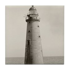 Minots Ledge Light, 1880 Tile Coaster