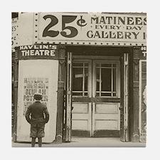 Havlins Theatre, 1910 Tile Coaster