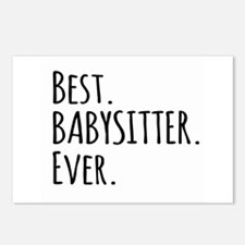Best Babysitter Ever Postcards (Package of 8)