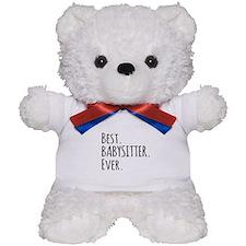 Best Babysitter Ever Teddy Bear
