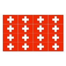 1/4 Scale Swiss Flags