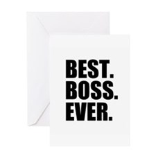 Best Boss Ever Greeting Cards