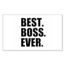 Best Boss Ever Bumper Stickers