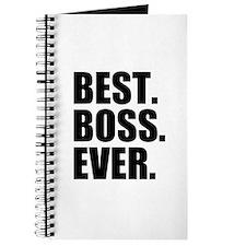 Best Boss Ever Journal