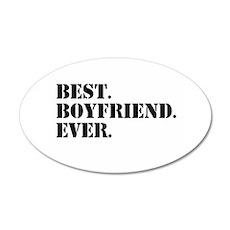 Best Boyfriend Ever Wall Sticker