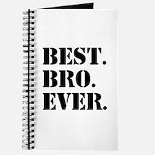 Best Bro Ever Journal