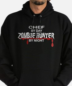 Zombie Hunter - Chef Hoodie (dark)