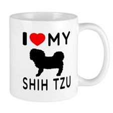 I Love My Dog Shih Tzu Mug