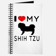 I Love My Dog Shih Tzu Journal