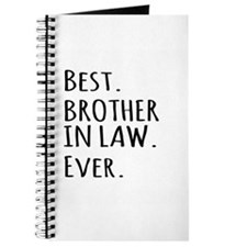 Best Brother in Law Ever Journal