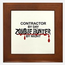 Zombie Hunter - Contractor Framed Tile