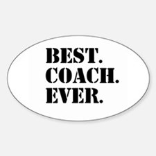 Best Coach Ever Decal