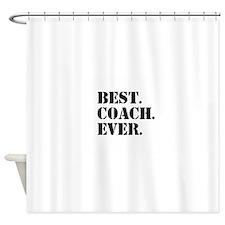 Best Coach Ever Shower Curtain