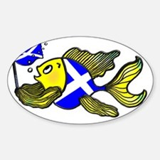 Scotland Fish, Fabspark Decal
