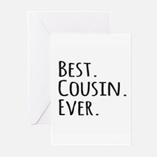Best Cousin Ever Greeting Cards