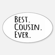 Best Cousin Ever Decal