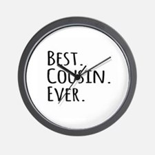 Best Cousin Ever Wall Clock