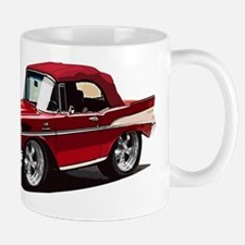 BabyAmericanMuscleCar_57BelR_Red Mugs