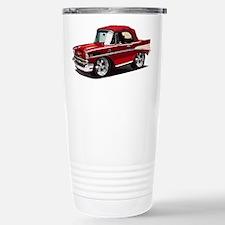 BabyAmericanMuscleCar_57BelR_Red Travel Mug