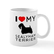 I Love My Dog Sealyham Terrier Mug