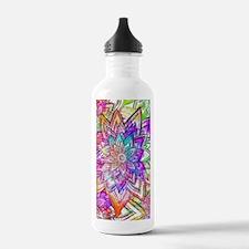 Colorful Vintage Flora Water Bottle
