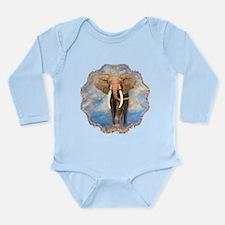Leopard Long Sleeve Infant Bodysuit