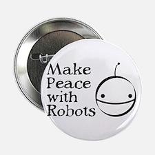 "ROBOT PEACE 2.25"" Button (10 pack)"