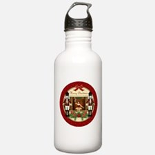 Red Nutcracker Ballerina Large Water Bottle