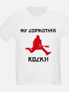 My Godmother Rocks! T-Shirt