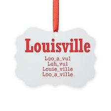 Louisville Ornament